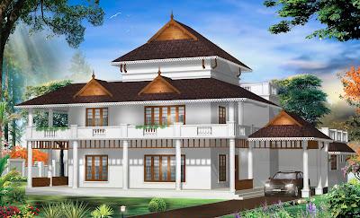 Kerala home amp architectural designs traditional for Traditional home designs kerala