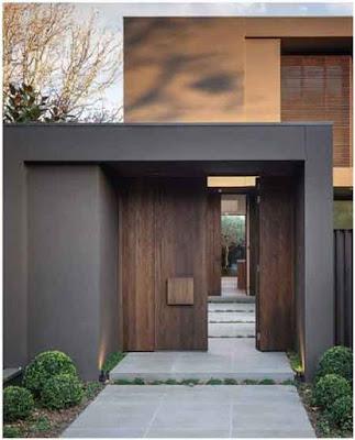 gambar pintu utama minimalis terbaru