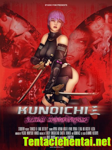 Hentaihd-KUNOICHI 3: DARK BUTTERFLY HD 720P