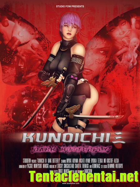 Hentaihd-KUNOICHI 3: DARK BUTTERFLY HD 720P