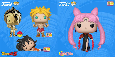 SDCC 2018 Exclusive Anime Pop! Vinyl Figures by Funko – Sailor Moon, Dragon Ball Z & Heavy Metal