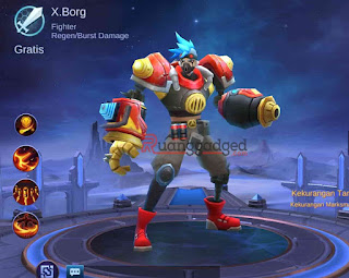 Tanggal Rilis Hero X.Borg ke Server Global Mobile Legends