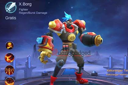 Tanggal Rilis Hero X.Borg ke Server Global Mobile Legends