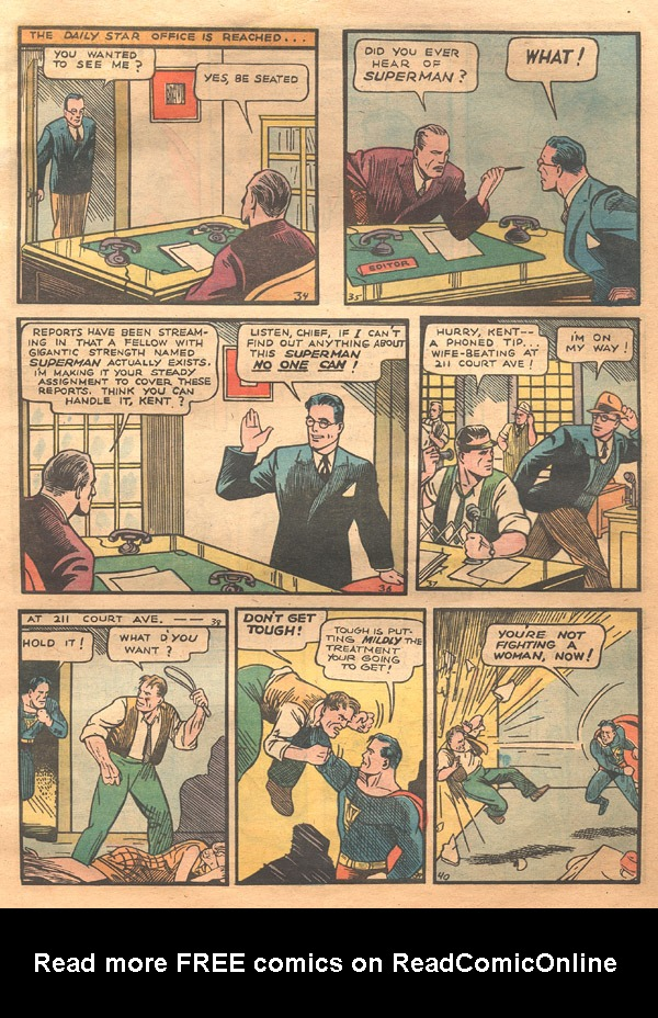 Action Comics (1938) 1 Page 6