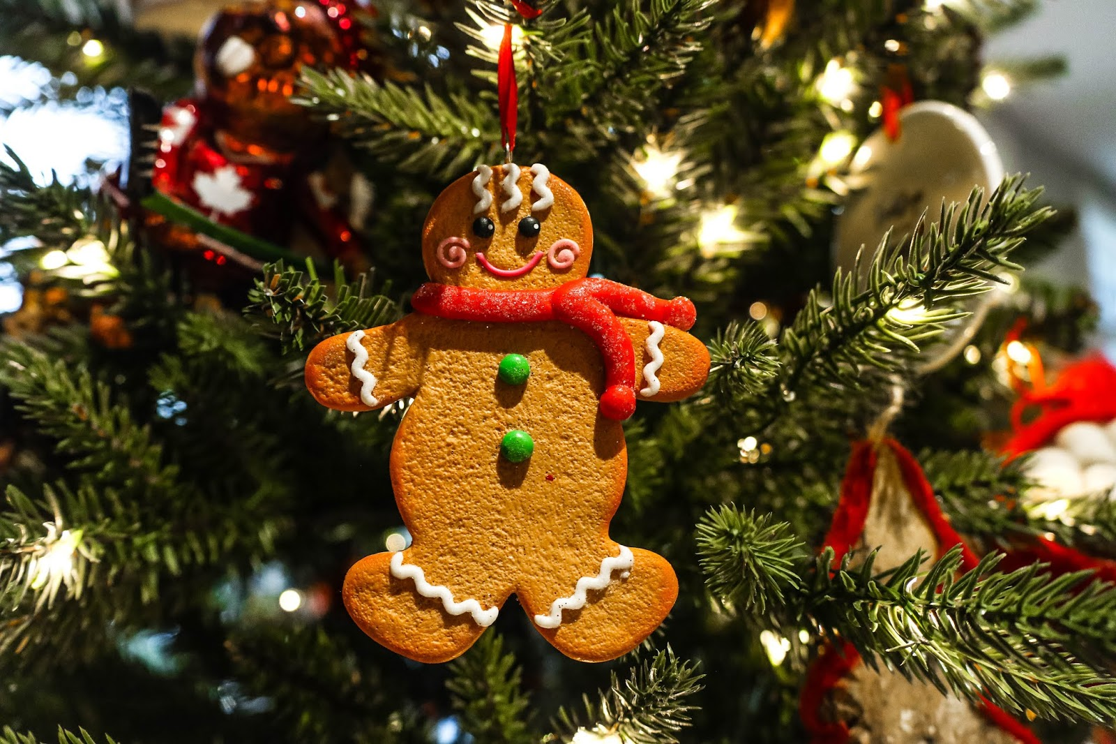 Canadian Tire Christmas Tree Decorations Ornaments Gingerbread