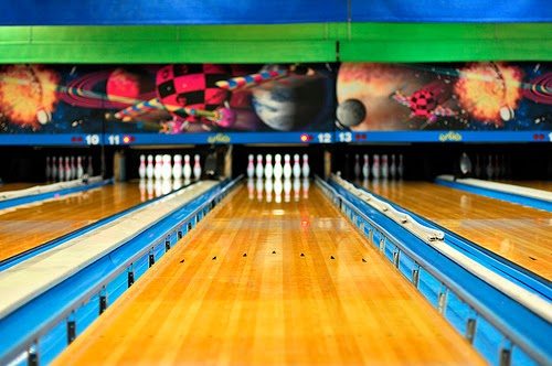 Image result for bowling gutter guards
