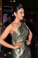 Rakul Preet Singh in Shining Glittering Golden Half Shoulder Gown at 64th Jio Filmfare Awards South ~  Exclusive 006.JPG