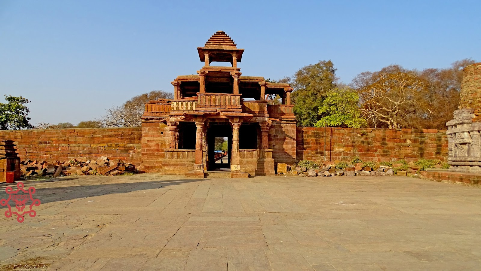 Entrance gate of Menal temple