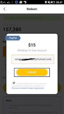cara menukarkan coins di aplikasi veeu