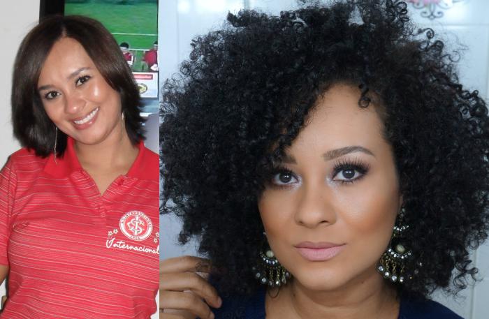 5 Antes e Depois de Transições Capilares para te inspirar!, Verena Barros, Antes e Depois de Transição Capilar
