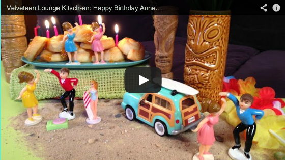 Velveteen Lounge Kitsch-en: Happy Birthday Annette Funicello