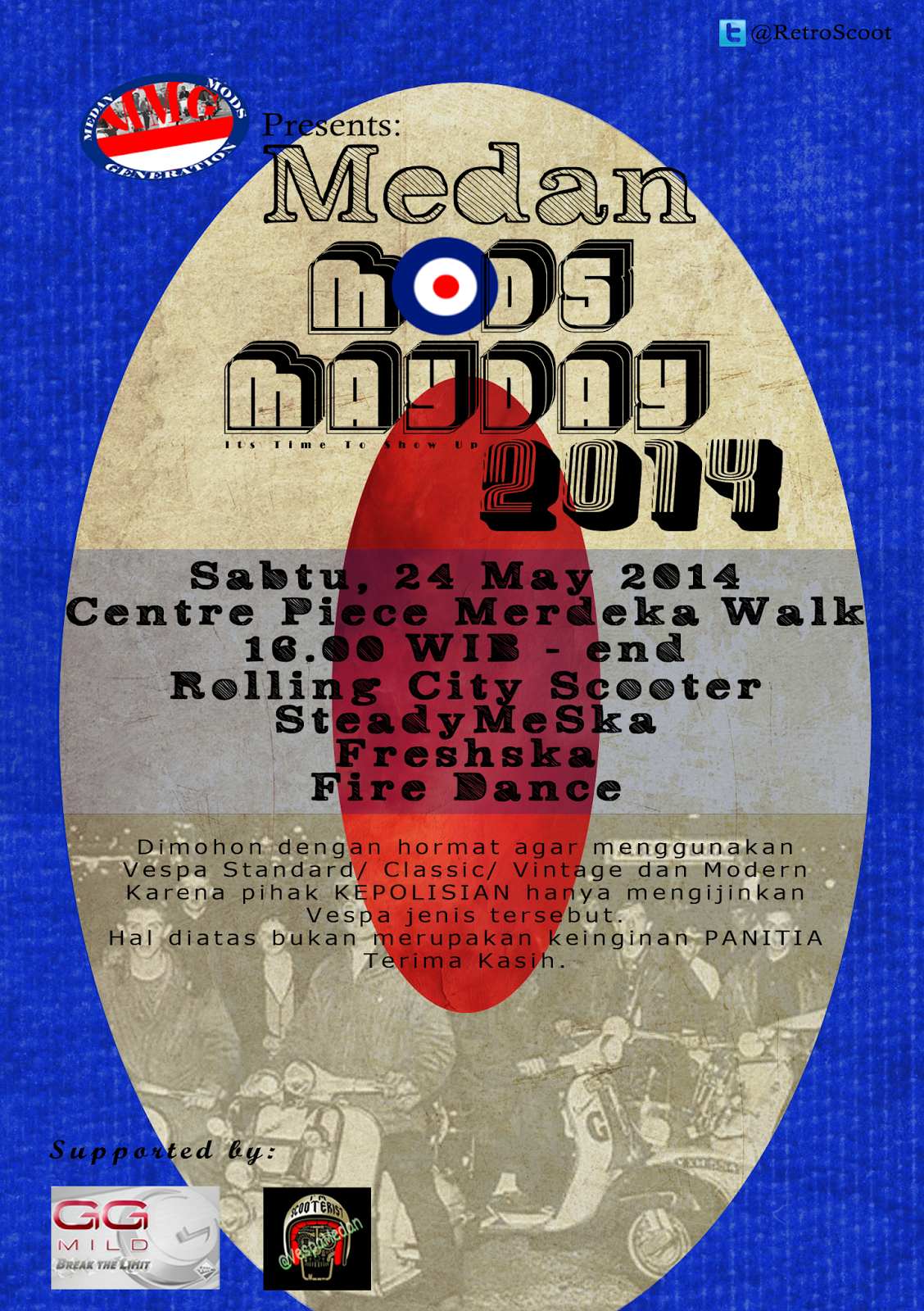 Medan MODS May Day 2014