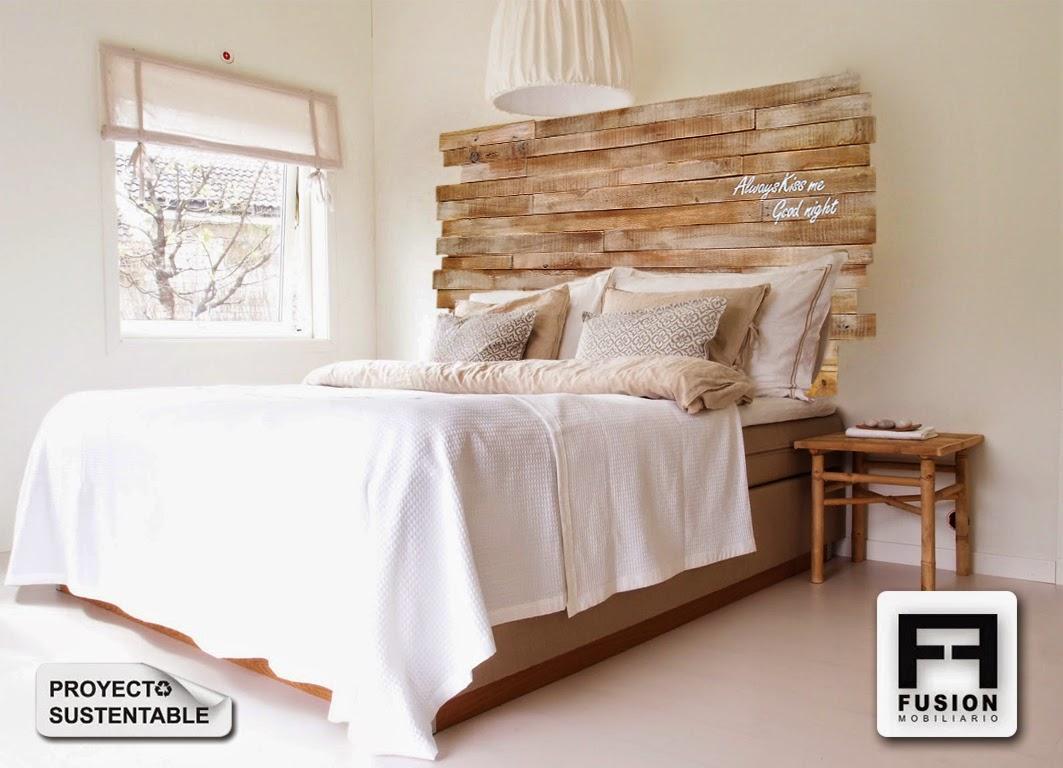 Respaldos para camas - Cabecera de cama reciclada ...