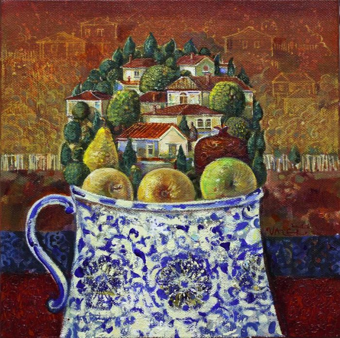 Artista búlgaro Valerie Coen