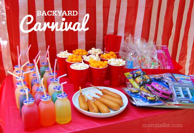backyard carnival ideas and decorations mami talks