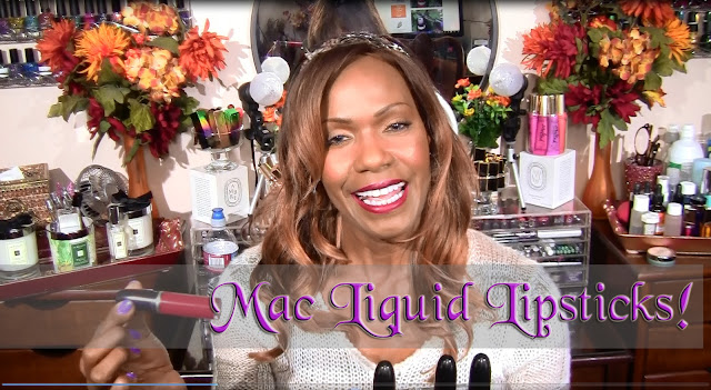 MAC Liquid Lipsticks | Swatches on Brown Skin