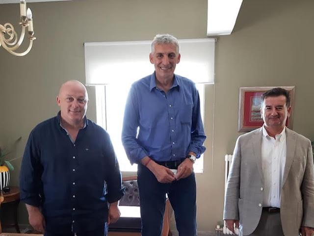 """Συνάντηση Μαλτέζου - Μαντζούνη με την """"αράχνη"""" του ελληνικού μπάσκετ στο Ναύπλιο"""