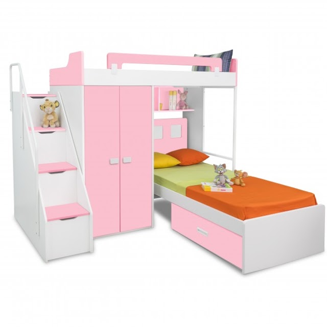 What are the different types of bunk beds that are used by people nowadays?