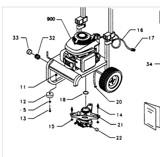 Zombie Engines: Craftsman 2400PSI 2.2GPH 5.5HP Pressure Washer
