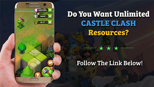 castle clash hack tool