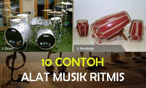 Lengkap 10 Contoh Alat Musik Ritmis Beserta Gambarnya Cinta Indonesia