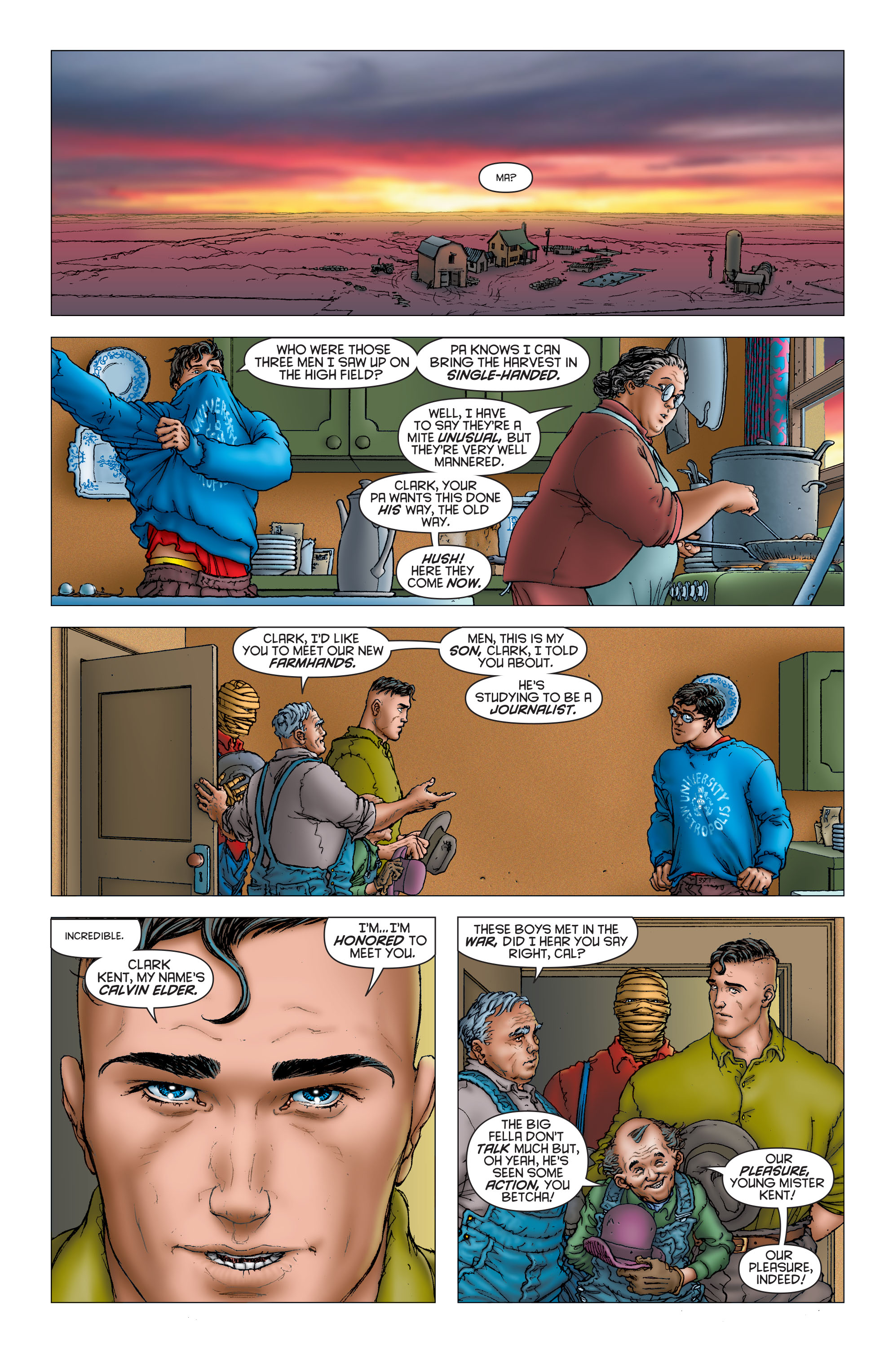 Read online All Star Superman comic -  Issue #6 - 8