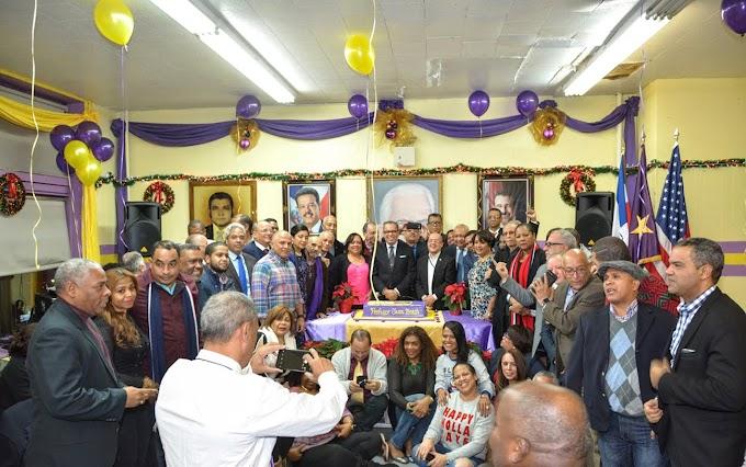 Seccional del PLD en NY celebra acto masivo por el 44 aniversario de la fundación del partido