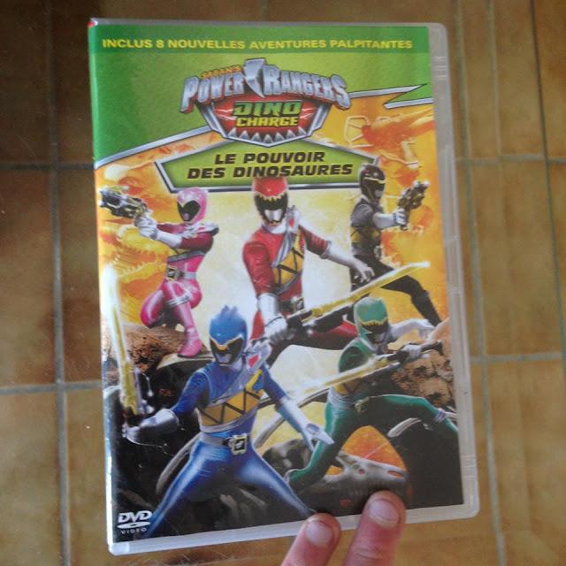acheter dvd power rangers