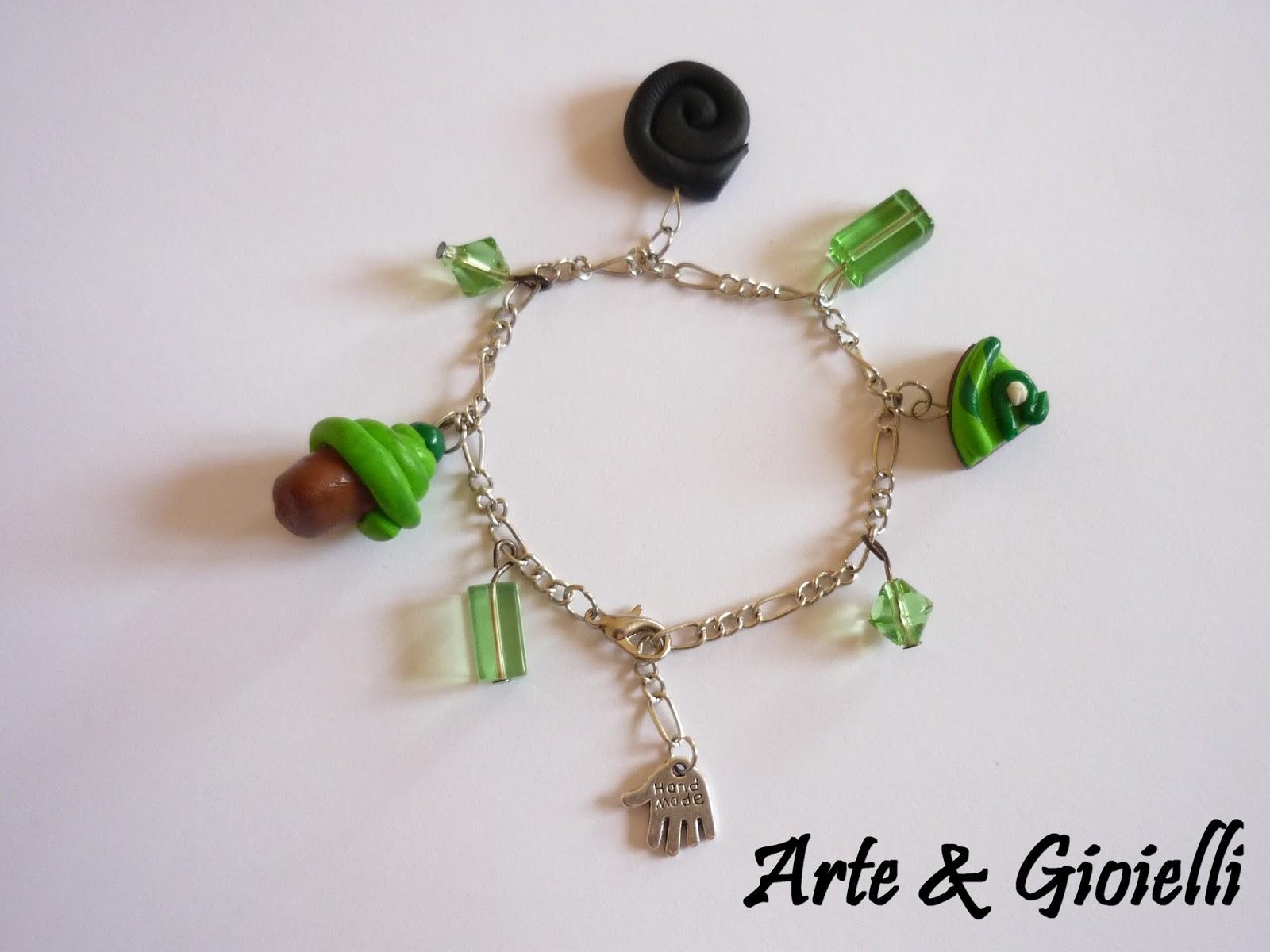 Arte gioielli bracciali in pasta di ceramica lucite e fimo for Siti cinesi gioielli