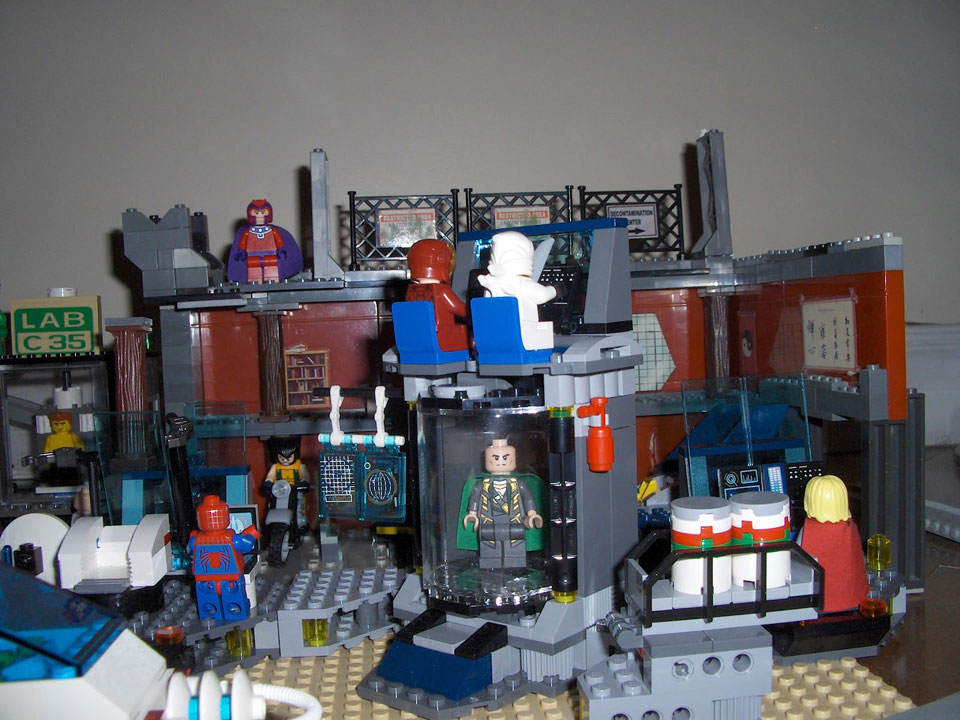 marvel lego city
