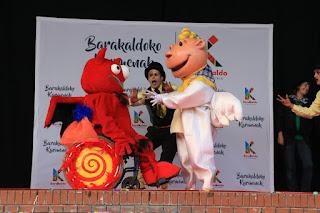 Inicio de las fiestas de Barakaldo