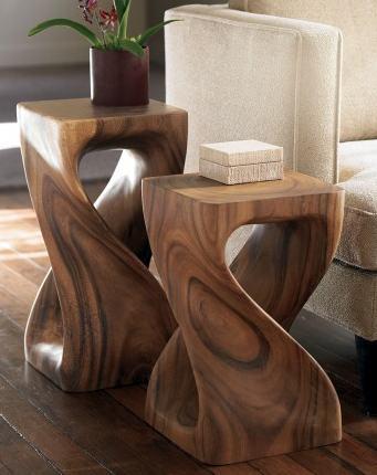 visual jill interior design wood tables warm up a space wood joist design tables wood beam design tables