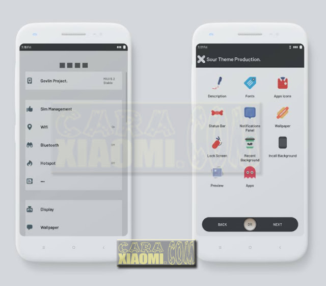 Download Tema Xiaomi MIUI Redmi Sour Mtz For MIUI V9 / V8 Theme