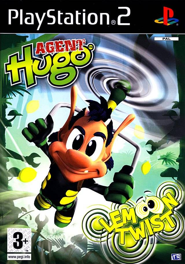 Agent Hugo Lemoon Twist PAL PS2