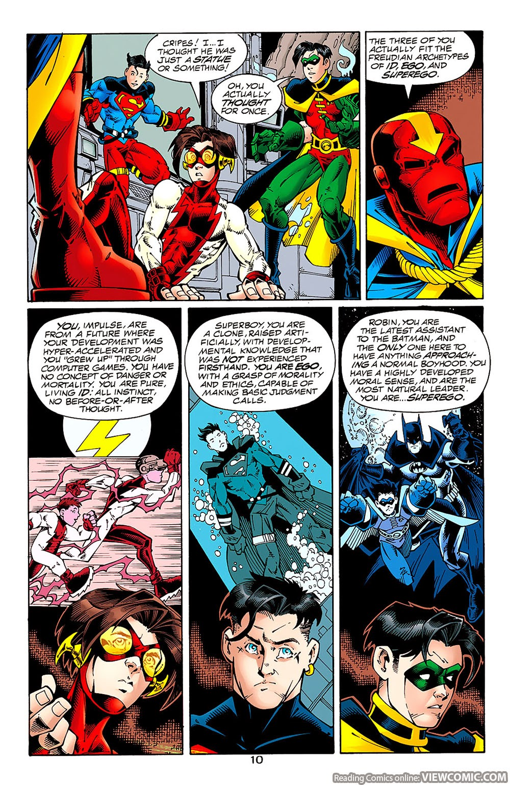 Young Justice 01 (1998) ………………………… | Viewcomic reading