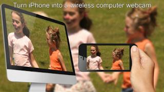 تحويل الايفون الى كاميرا ويب