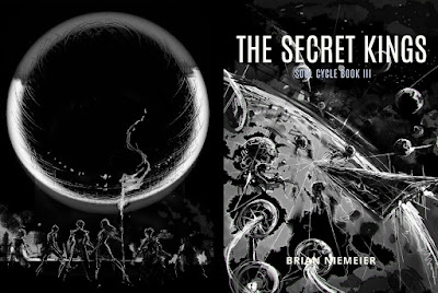 The Secret Kings front and back covers