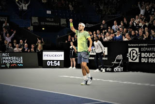 Pouille and Berdych reach Open 13 semis