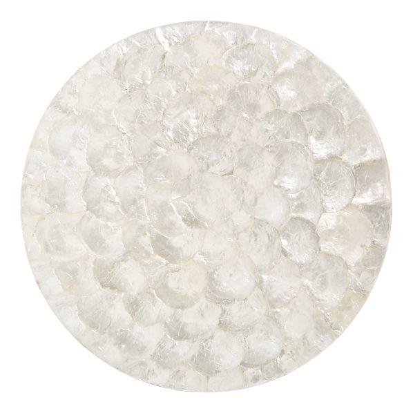 Horchow Capiz Shell Round Placemats Copycatchic