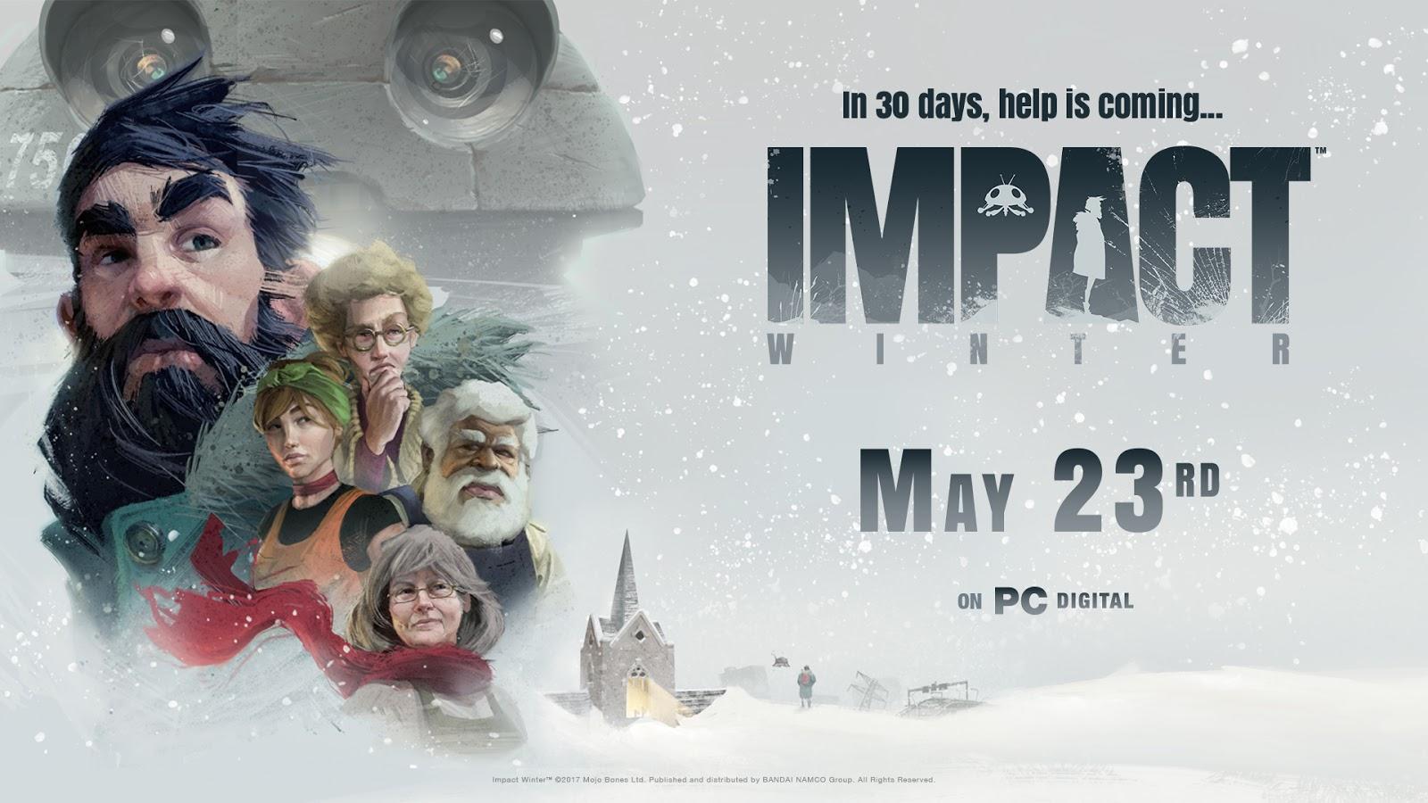 Impact Winter finalmente llegará el 23 de mayo a PC