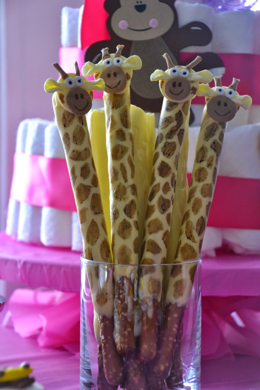 Much Ado About Somethin Chocolate Covered Pretzel Giraffes