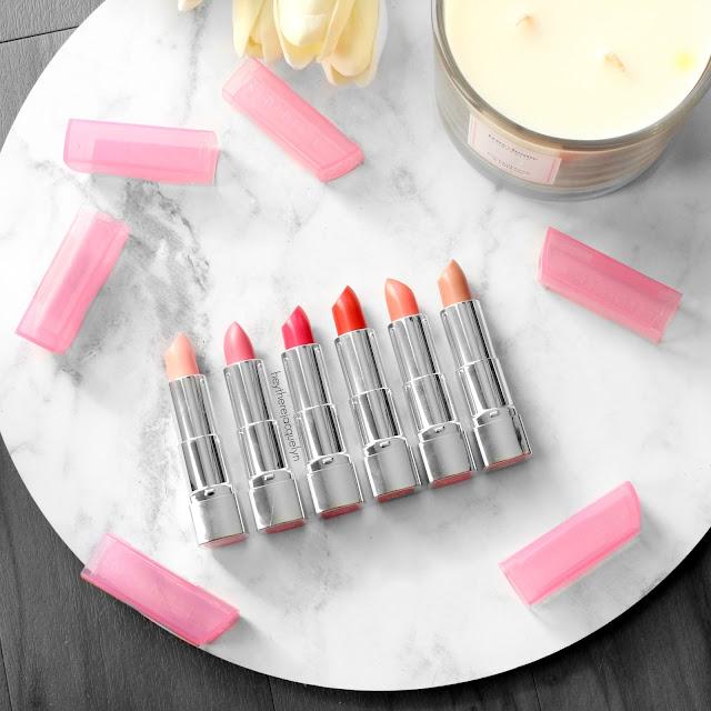 Rimmel Moisture Renew Sheer & Shine Lipsticks