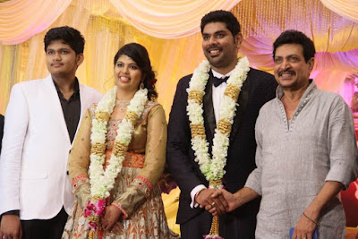 actor_ajay_ratnam_son_wedding_reception_photos