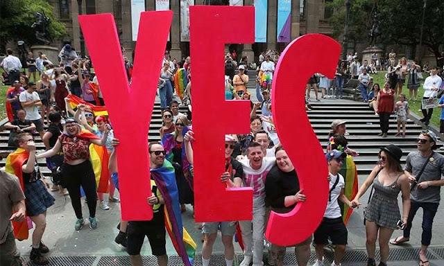 Australians back same-sex marriage in historic vote