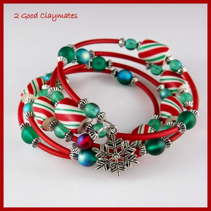 2 Good Claymates: Memory Wire Bracelet Tutorial