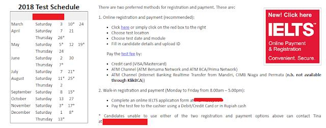 IELTS Online Registration