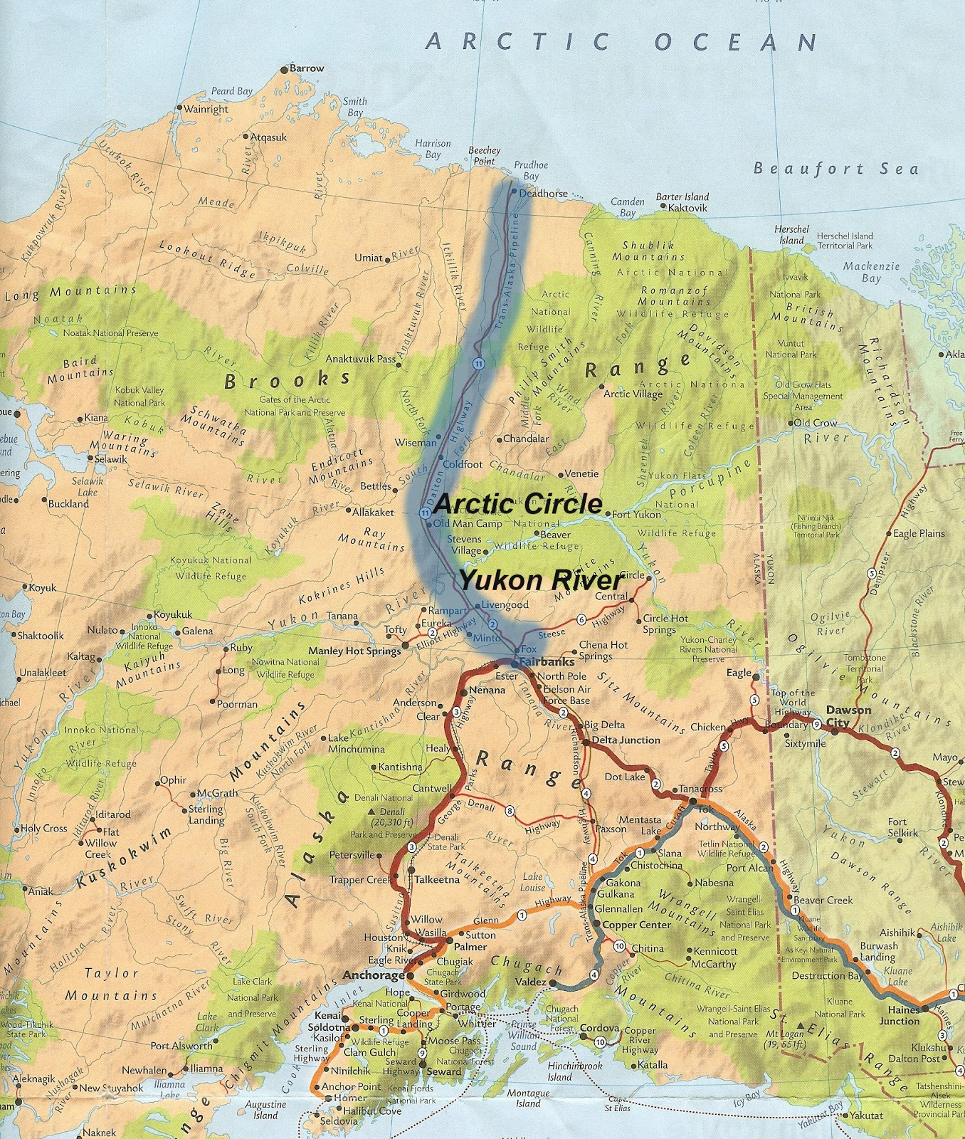 you might recognize some of these shows ice road truckers worlds most dangerous roads and others have been filmed on the dalton hwy