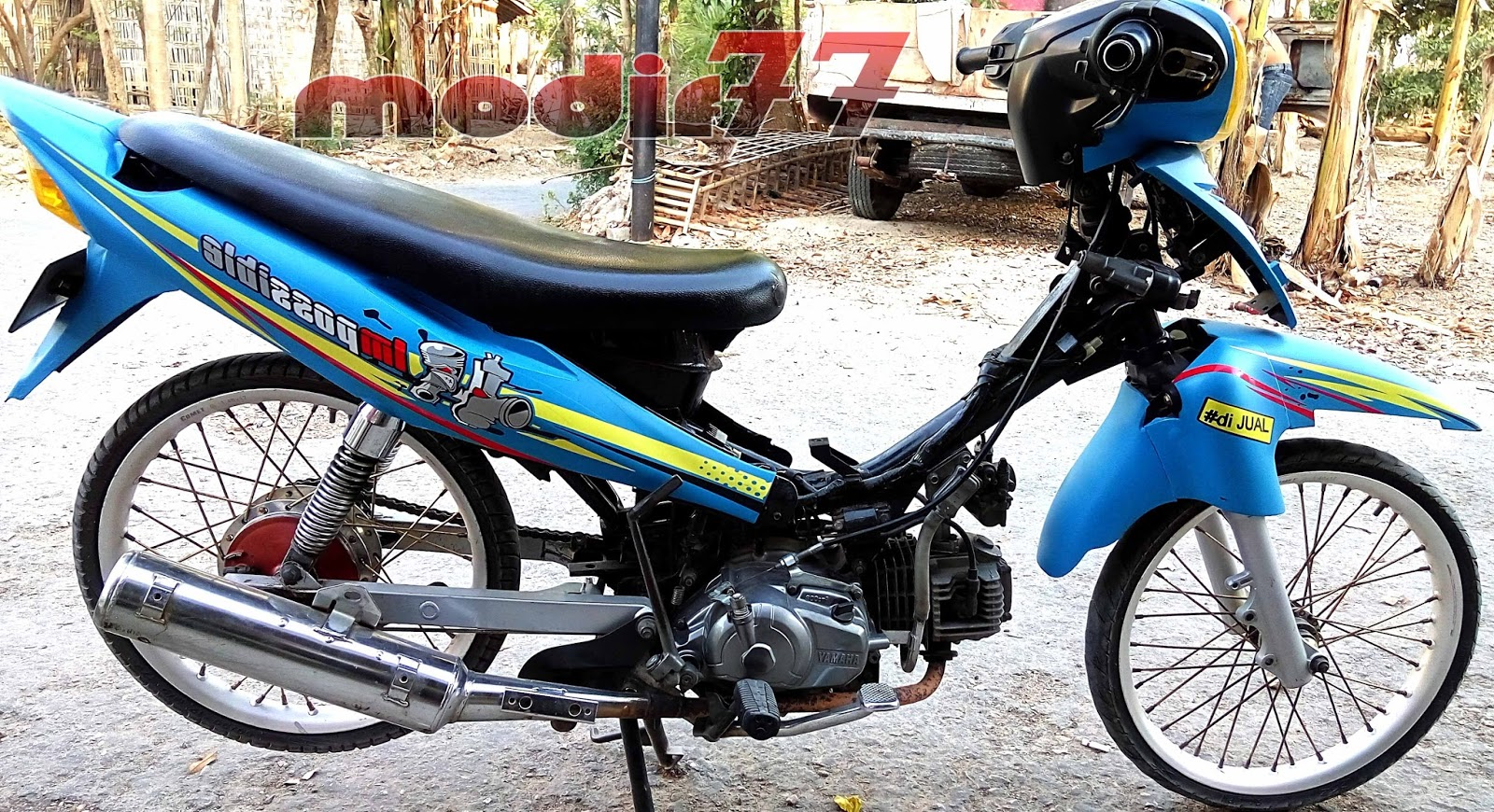 Foto Modifikasi Motor Jupiter Z