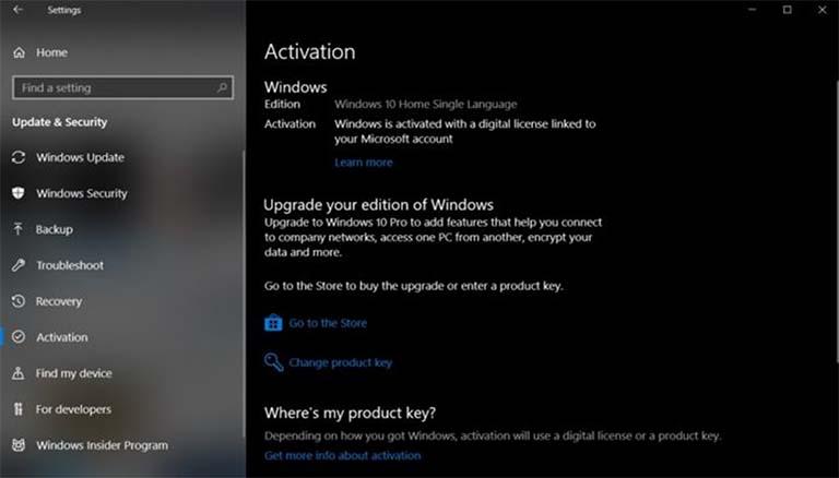 Sistem Aktivasi Windows 10 Rusak / Bermasalah (Menjadi Versi Home)