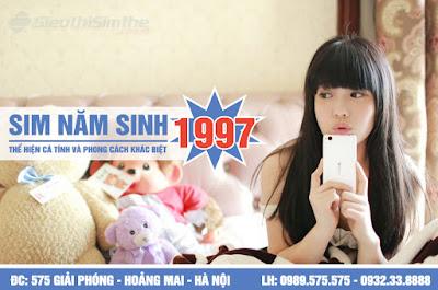 Sim năm sinh 1997